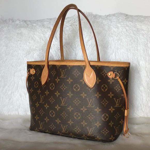 Louis Vuitton Handbags - 💯Authentic Louis Vuitton Neverfull PM Tote Bag 80076a53d9d10